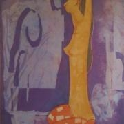 2-Early Morning, 1970 RM 10,450.00-SOLD | Batik | 90 x 60 cm
