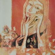 5-Grace, Undated RM 10,450.00-SOLD   Batik   60 x 45 cm