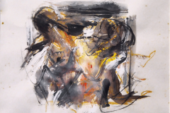 LOT 54 (2)-Yusof-Ghani-Untitled,-1992-Mixed-media-on-paper,-25-x-25-cm-RM3,000---RM5,000