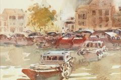 LOT 30 Ong-Kim-Seng-_Singapore_-(1991)-27cm-x-37cm-Watercolour-on-paper--RM-7,000---10,000