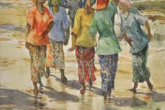 LOT 60 -KHALIL-IBRAHIM-East-Coast-Series-1995-27 x 36 cm