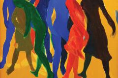 LOT 42 Khalil-Ibrahim,-2003,-Acrylic-on-canvas,-39-x-40cm