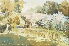 LOT 31 Ong-Kim-Seng-_Old-Bridge_-(1990)-36cm-x-54cm-Watercolour-on-paper-RM-12,000---22,000-