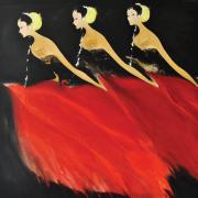 65-Srihadi,-Bedaya-Ketawang-Beauty-of-Soul,-2015,-Oil-on-canvas,-150-x-150cm