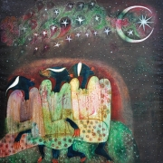 6-Auction IX Moon of Ramadhan, 1997 RM 44,000.00-SOLD | Oil on canvas | 127 x 127 cm