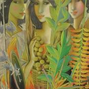 Tres Marias, 2002 RM 7,700.00-SOLD | Oil on canvas | 61 x 48 cm