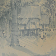 4-Untitled, 1962 RM 5,000.00 - RM 7,000.00 | Chinese ink on paper | 65 x 35.5 cm