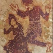 Lot-10-Tan-Rahim-Traditional-Dance-1979-Batik-67-x-51-cm