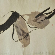 1-Auction XI Take Off, 1987 RM 48,160.00-SOLD | Watercolour and ink on paper | 55 x 76.5 cm