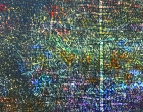 Nizar Kamal Ariffin (2012) Siri Pohon Beringin - Daerah 9 Acrylic on canvas 127 x 157 cm