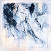 15-Siri Tari - Deredik Putih, 1989 RM 82,500.00-SOLD | Oil on canvas | 122 x 122 cm