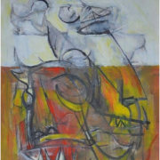 4-New York, 1969 RM 5,500.00-SOLD | Mixed media on paper | 40.5 x 26 cm