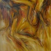 Yusof Ghani Segerak Series, 2007 mixed media on canvas 152 x 91 cm