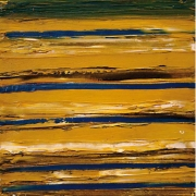 2-Sea Sand I, II & III, 2002 RM 4,950.00-SOLD | Acrylic on canvas | 24 x 24 cm