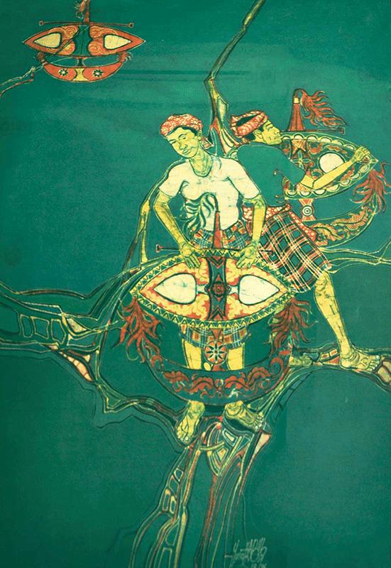 15-Wau-Series-1976-RM-14560-SOLD_-Batik-_-99-x-67-cm