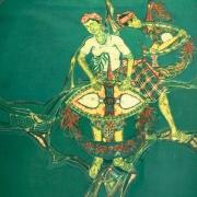 1-Wau Series, 1976 RM 14,560-SOLD| Batik | 99 x 67 cm