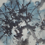 """3-RM 49,280.00-SOLD Zhao Shao'ang """"Flowers and Birds"""" (1978) 83.5 x30 cm"""