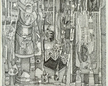 69-Zulkifli-Yusoff-Power-Series-1994-Ink-on-paper-32-x-23-cm