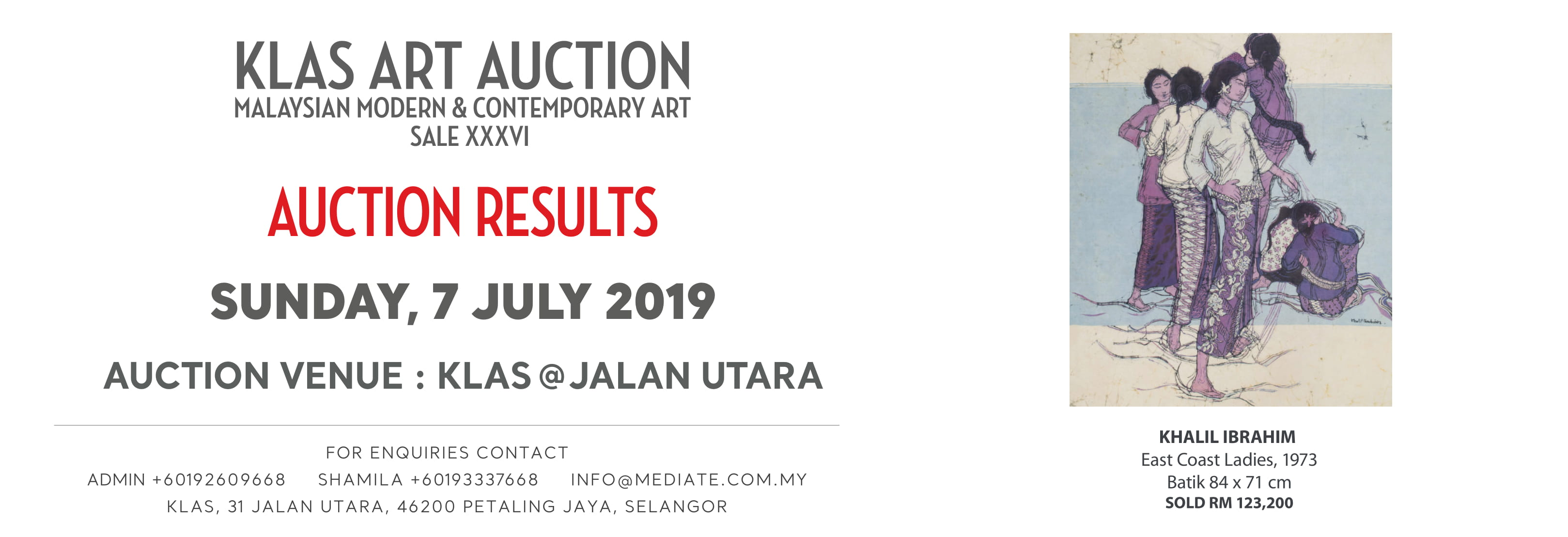 AUCTION RESULTS JULY 2019 WEB 1-1